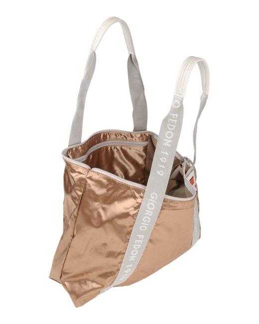 Giorgio fedon Handbag in Natural