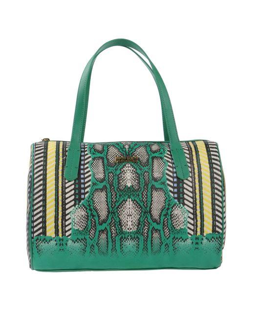 Just Cavalli   Green Handbag   Lyst