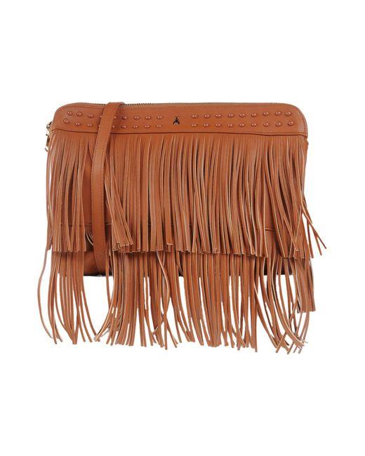 Patrizia Pepe | Brown Shoulder Bag | Lyst