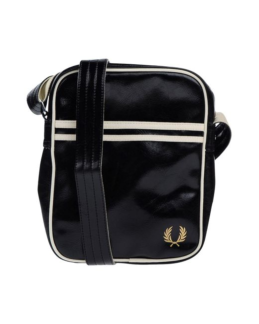 Fred perry Cross-body Bag in Black for Men  9beda7f41b936