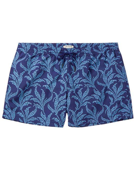 Short de bain Club Monaco pour homme en coloris Blue