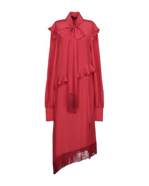 Robe aux genoux ROKH en coloris Red