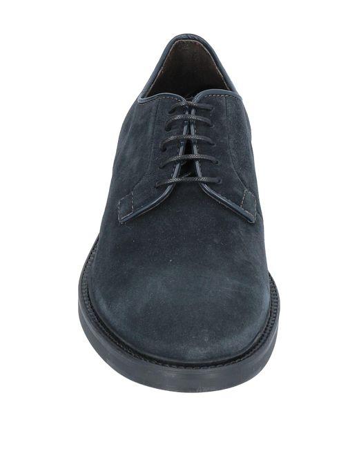 A.Testoni Schnürschuh in Blue für Herren