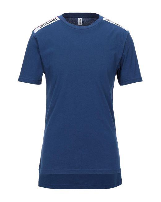 T-shirt intima di Moschino in Blue da Uomo