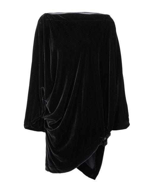 Vivienne Westwood Anglomania Black Short Dress