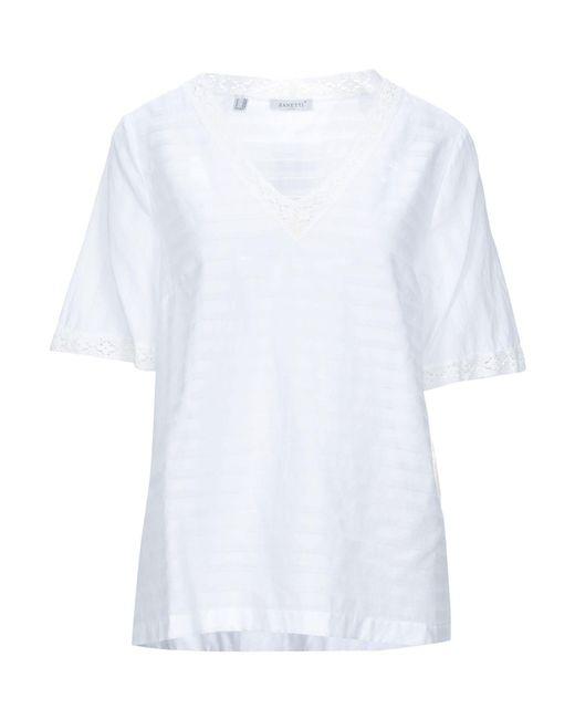 Blouse Zanetti 1965 en coloris White