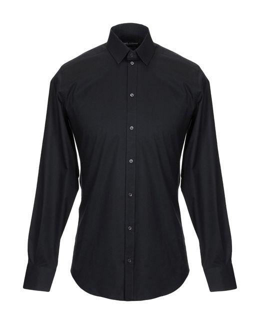 Chemise Dolce & Gabbana pour homme en coloris Black