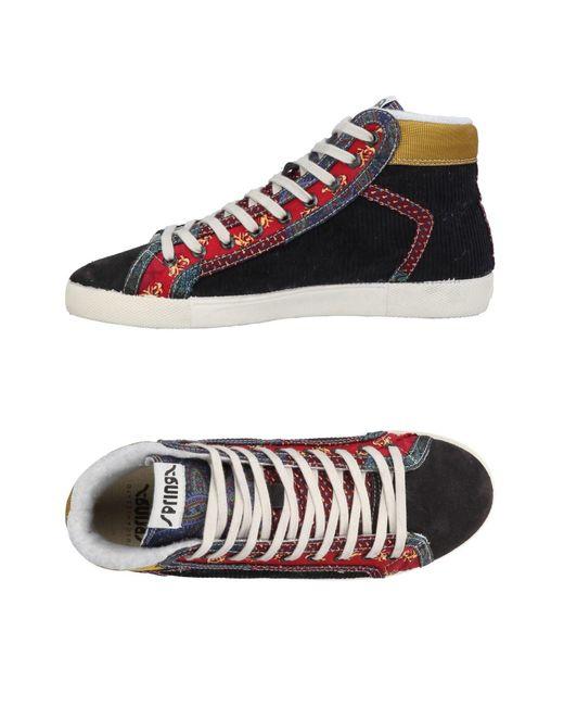 Springa - Gray High-tops & Sneakers for Men - Lyst