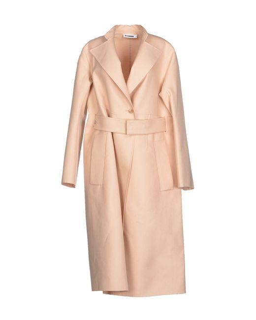 Jil Sander - Pink Full-length Jacket - Lyst