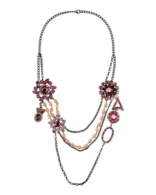 First People First | Purple Necklace | Lyst