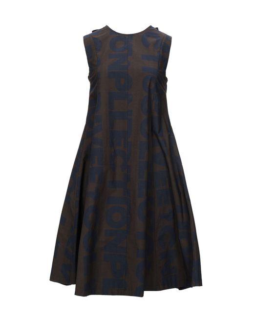 Vestito al ginocchio di Collection Privée in Brown