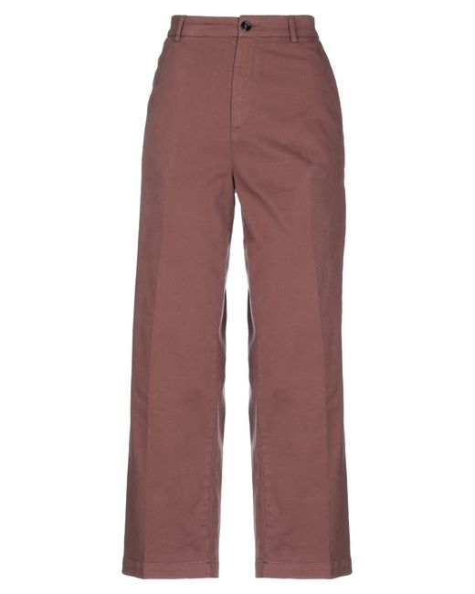 TRUE NYC Brown Casual Trouser