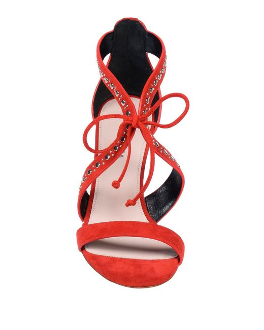 Sandales Premiata en coloris Red