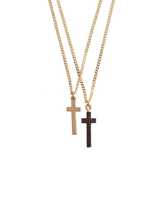 DSquared² Halskette in Metallic für Herren