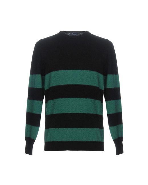 Pullover di Drumohr in Green da Uomo