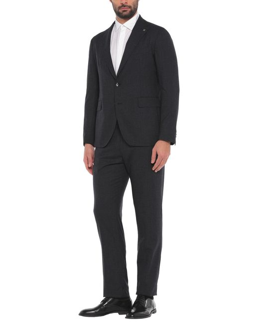 Tagliatore Black Suit for men