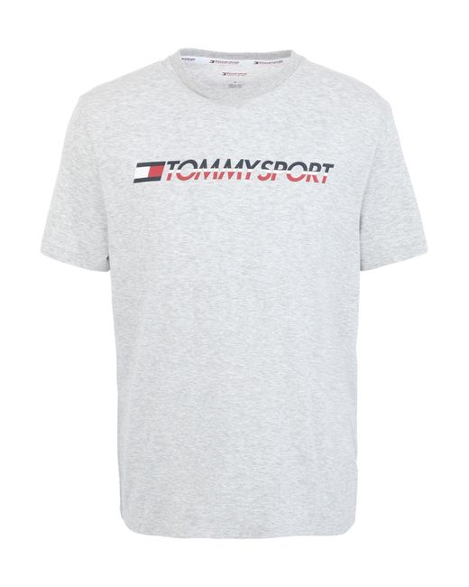 Tommy Sport Gray T-shirt for men