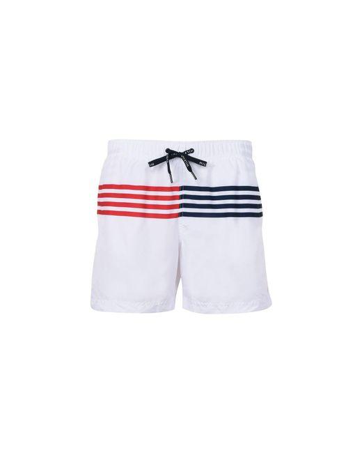 Tommy Hilfiger White Swim Trunks for men