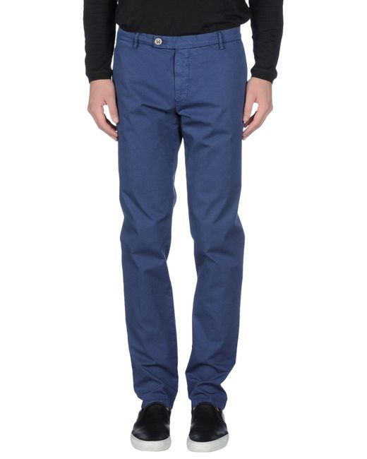 Dondup | Blue Casual Pants for Men | Lyst