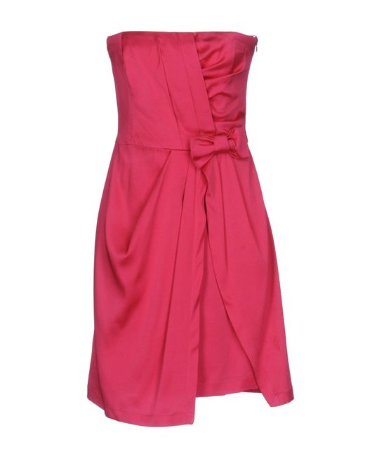 Flavio Castellani Multicolor Short Dress