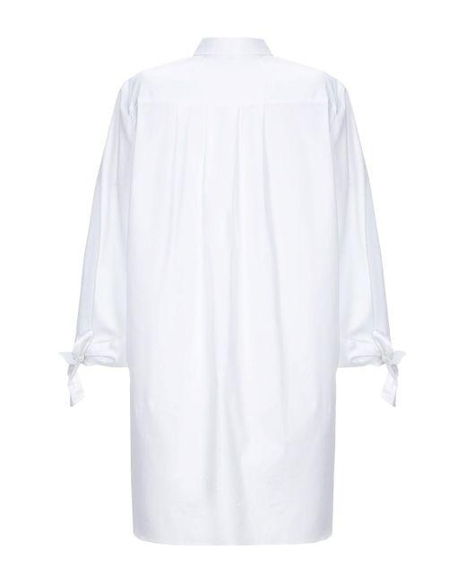 Purotatto Camisa de mujer de color blanco xdEPm