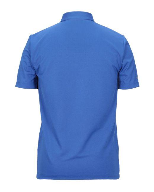 Polo Colmar de hombre de color Blue