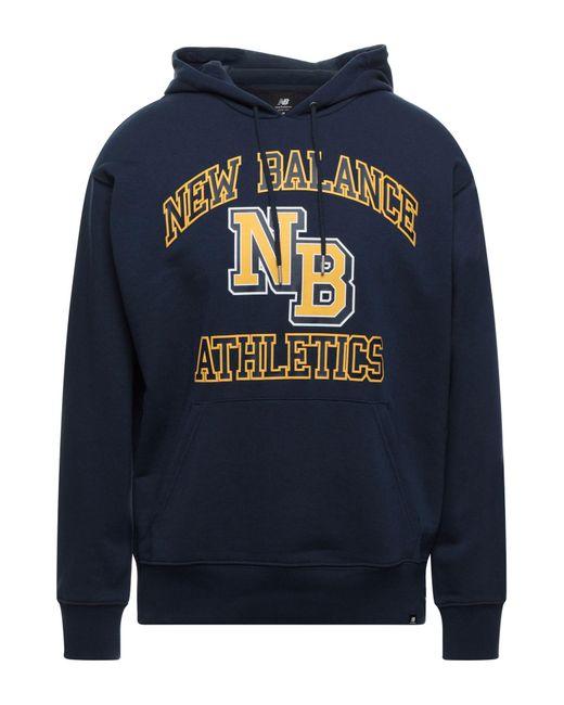 New Balance Blue Sweatshirt for men