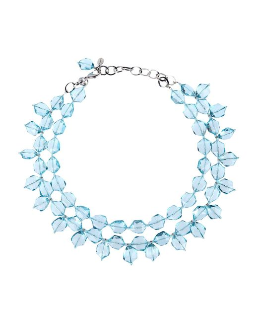 P.A.R.O.S.H. - Blue Necklace - Lyst