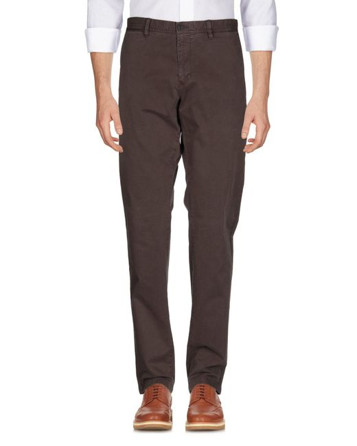 Pantalones Brooksfield de hombre de color Brown