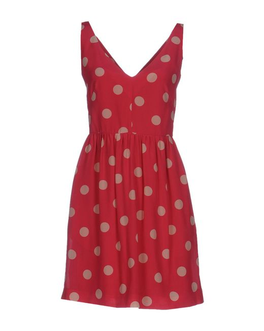 RED Valentino - Red Short Dresses - Lyst