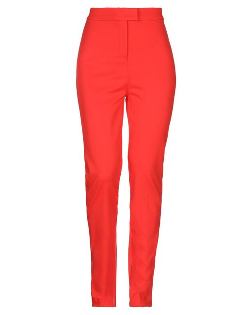 Pantalones Pinko de color Red
