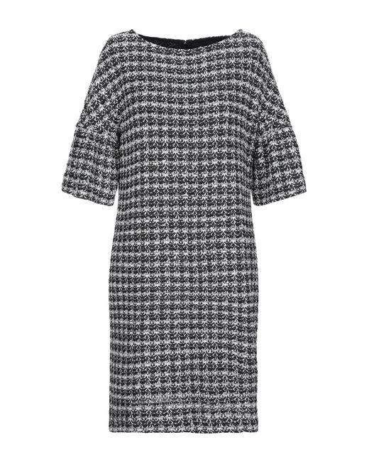 St. John Black Short Dress