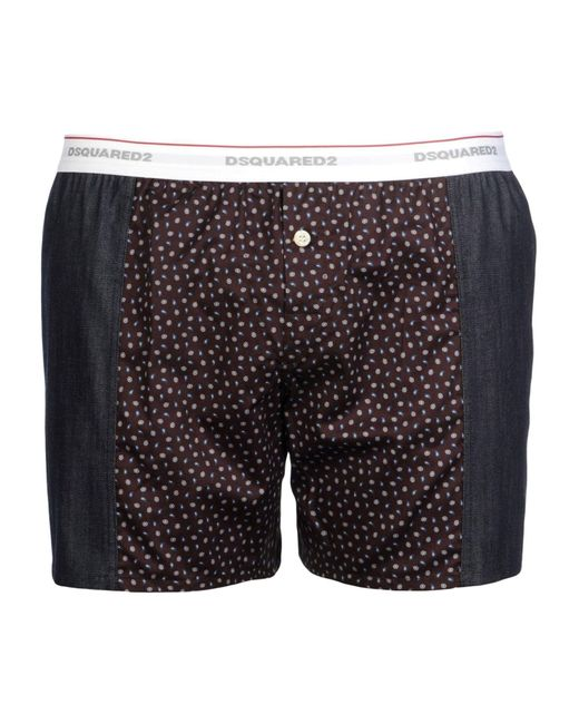 DSquared² | Brown Boxer for Men | Lyst