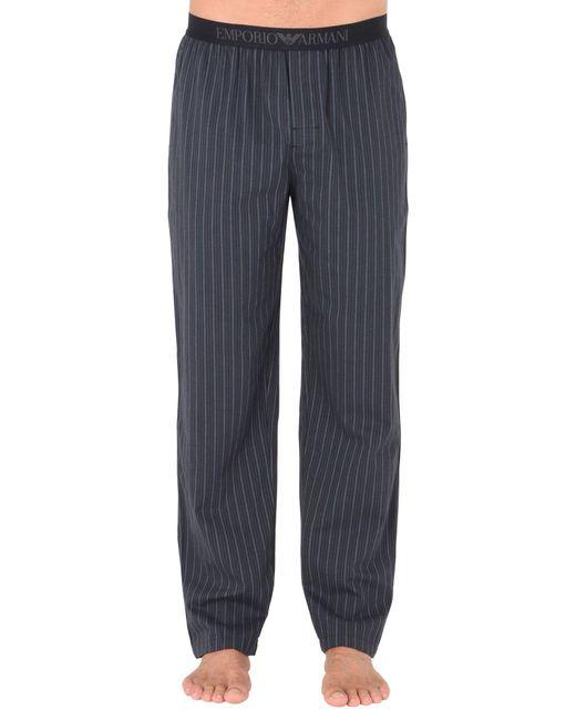 Emporio Armani   Black Sleepwear for Men   Lyst