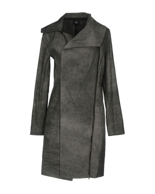 Crea Concept - Gray Overcoat - Lyst