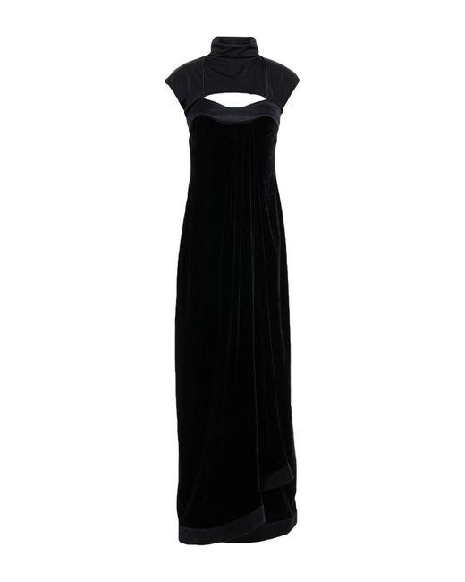 Unravel Project Black Langes Kleid