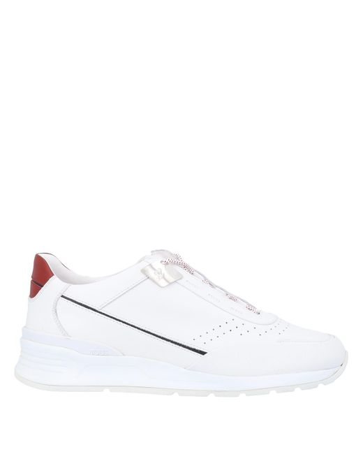 Tod's For Ferrari Low Sneakers & Tennisschuhe in White für Herren