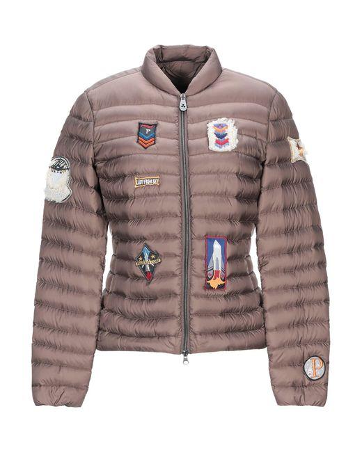 Peuterey Brown Down Jacket