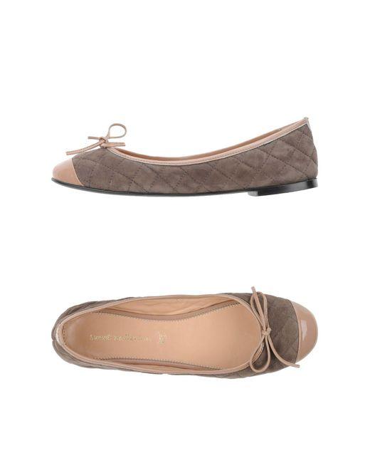 Sweet Ballerina - Gray Ballet Flats - Lyst