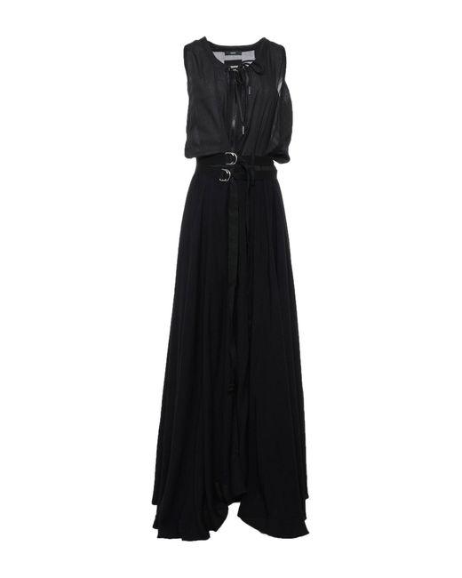 Robe longue DIESEL en coloris Black