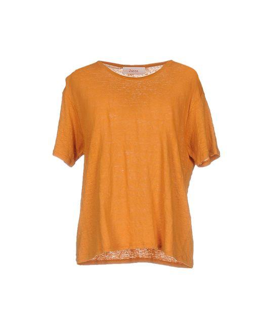 Jucca   Orange T-shirts   Lyst