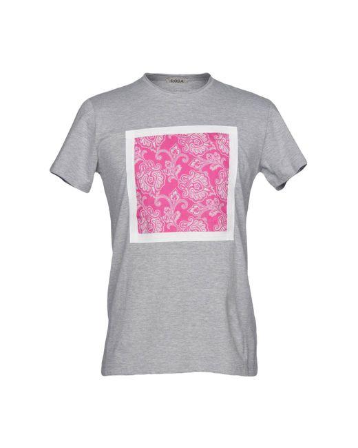 Roda - Gray T-shirt for Men - Lyst