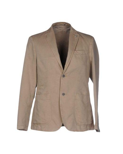AT.P.CO | Natural Blazer for Men | Lyst