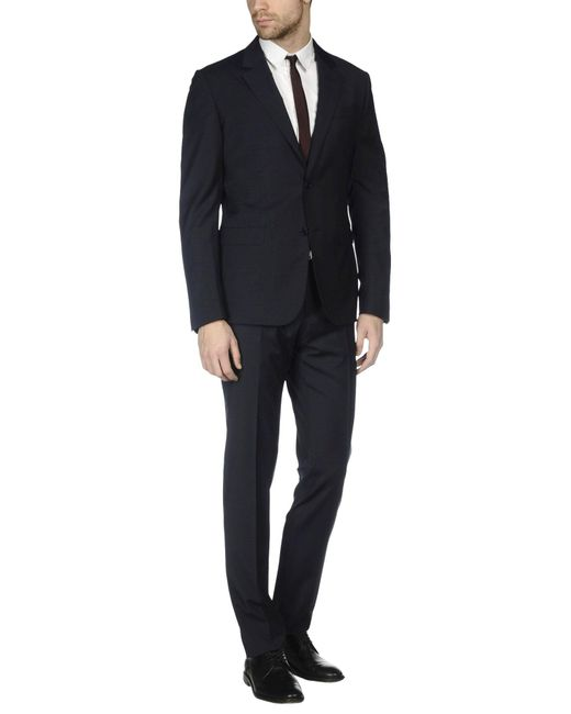 Moschino | Blue Suit for Men | Lyst