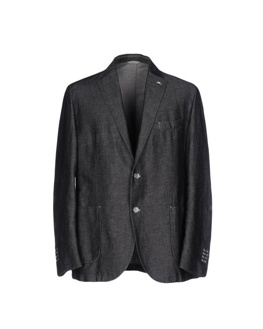 L.b.m. 1911 | Gray Blazer for Men | Lyst