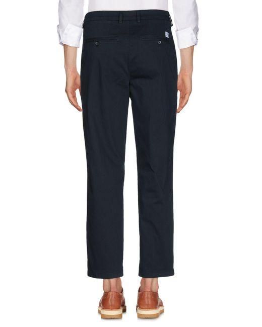 Department 5 Pantalon homme de coloris bleu sWaXC