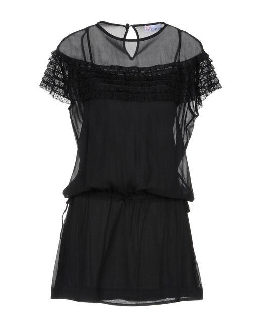 RED Valentino Black Short Dress