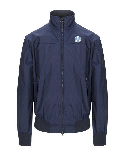 North Sails Blue Jacket for men