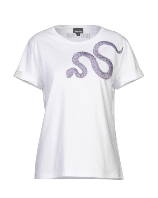 T-shirt Just Cavalli en coloris White