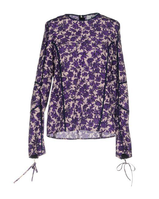Blouse MSGM en coloris Purple
